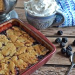Quick and Easy Blackberry Cobbler