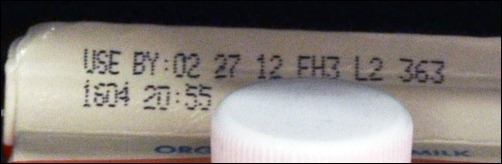 use by date