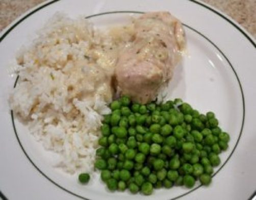 crockpot chicken with chive sauce