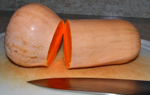 how to cut butternut squash youtube