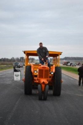 here comes the tractor again