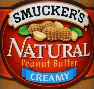 smuckers creamy natural label