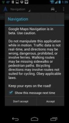 RAZR MAXX navigation