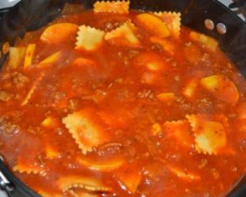 add ravioli