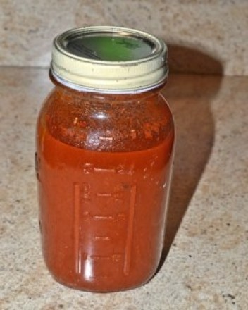 cleaned jar