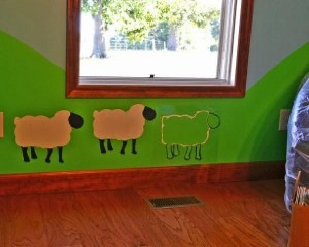 sheep stencils