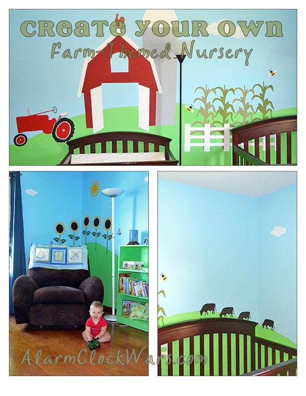 how to create your own farm-themed nursery