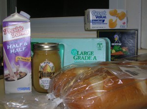French toast supplies