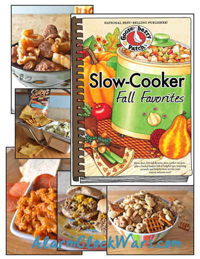 Gooseberry Patch Slow-Cooker Fall Favorites giveaway