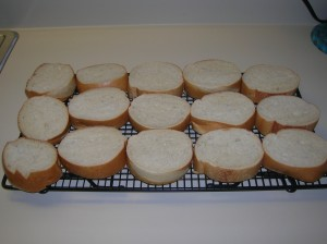 bread ready for French toast