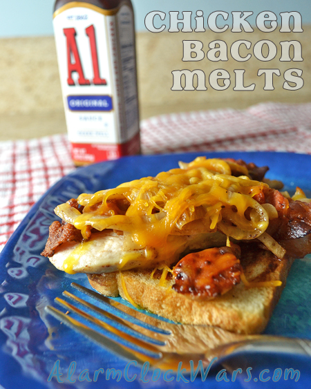 chicken bacon melts