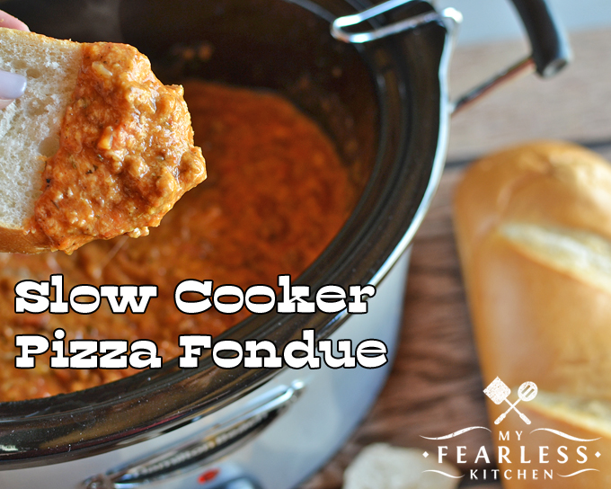 recipe: meatless pizza fondue [13]