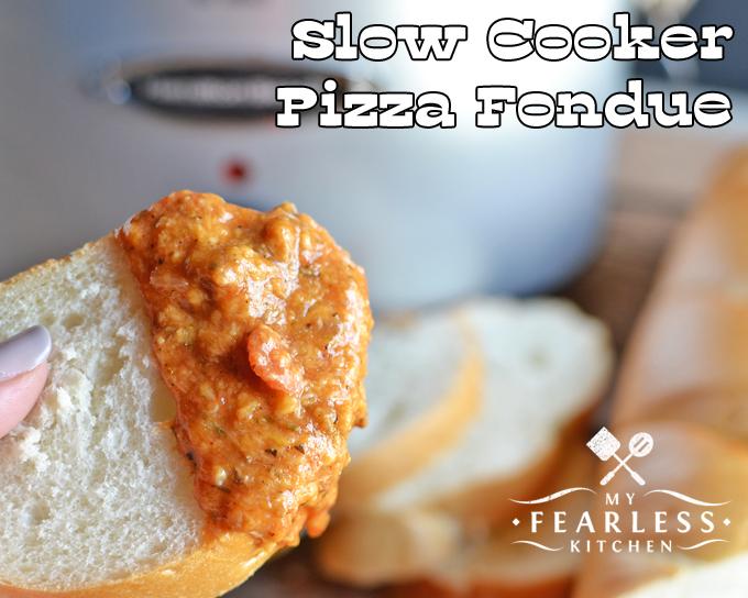 recipe: meatless pizza fondue [28]