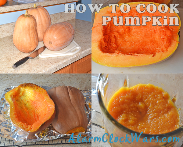 how to cook small pumpkins