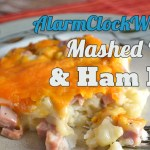 Mashed Potato & Ham Bake