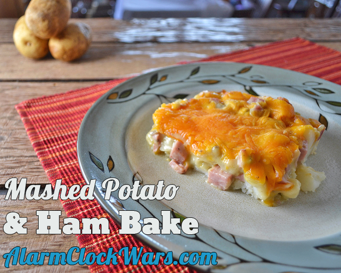 Do you need something to do with all that leftover ham? Try this recipe for Mashed Potato & Ham Bake.