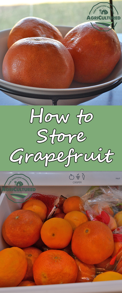 Buy grapefruit in bulk when they are in season and enjoy them all year long. Find out how to store grapefruit to use now, in a few days, and in a few months.