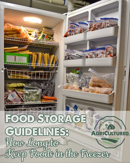 Food Storage Guidelines How Long To Keep Foods In The