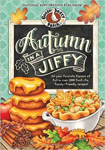 Autumn in a Jiffy cookbook by Gooseberry Patch