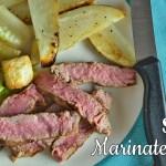 Simple Marinated Steak