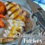 Grilled Orange-Marinated Turkey Breast