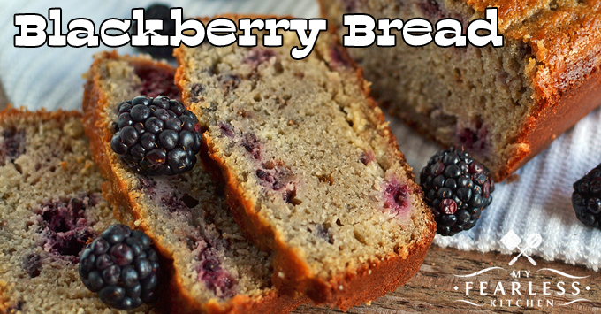 thick-sliced Blackberry Bread