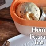 Homemade Peanut Butter Ice Cream