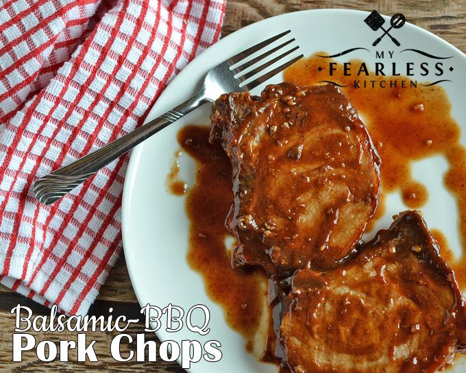 Balsamic-BBQ Pork Chops