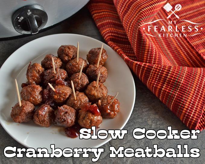 crock pot meatballs cranberry sauce
