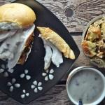 Turkey and Dressing Sandwich