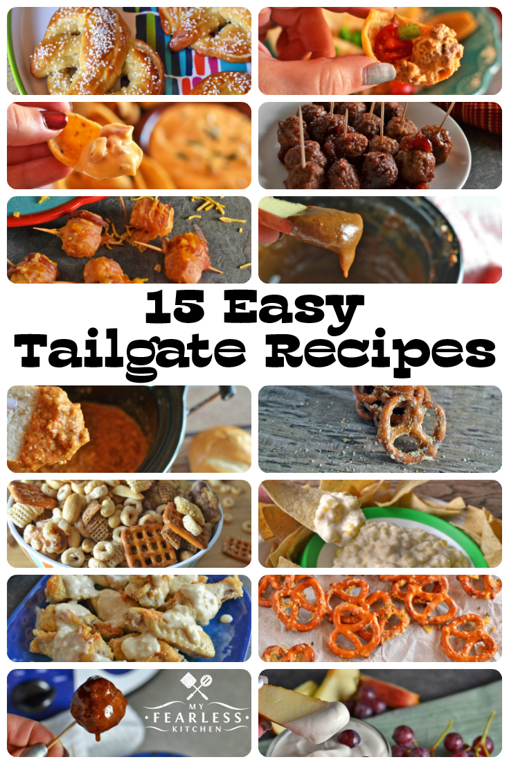 15 easy tailgate recipes my fearless kitchen 15 easy tailgate recipes from my fearless kitchen whether your family likes football basketball forumfinder Choice Image