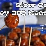Slow Cooker Honey-BBQ Meatballs