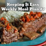 Easy Weekly Meal Plan #7