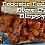 Freezer-Friendly Slow Cooker Sloppy Joes