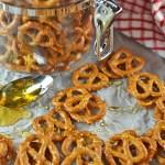 Honey-BBQ Pretzels