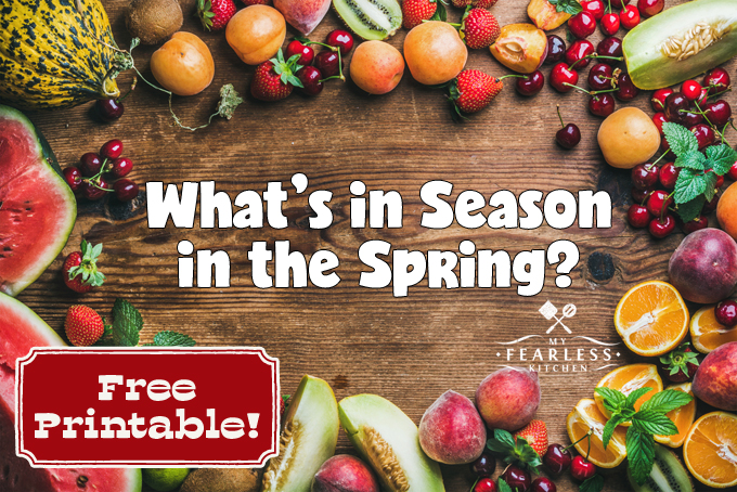 fruits and vegetables that are in season in the spring