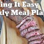 Easy Weekly Meal Plan #17