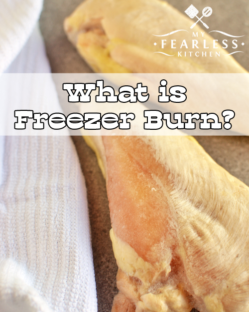 What is Freezer Burn? from My Fearless Kitchen. Have you ever taken food out of the freezer, and found white spots on the surface? That's freezer burn. Find out how to prevent it, and what to do about it.