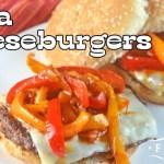 Fajita Cheeseburgers