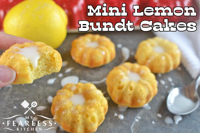 Dessert using lemon cake mix