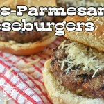 Garlic-Parmesan Cheeseburgers