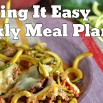 Easy Weekly Meal Plan #24