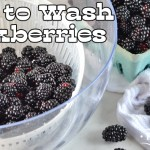 How to Wash Blackberries
