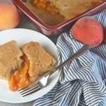 Quick & Easy Peach Cobbler
