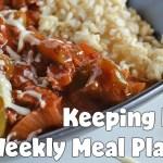 Easy Weekly Meal Plan #39