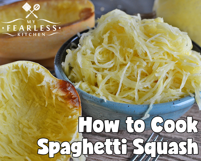 How to Cook Spaghetti Squash from My Fearless Kitchen. Have you ever tried spaghetti squash? How do you turn that squash into those cute noodles? It's easier than you think! Get the tips and tricks you need here.