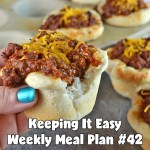 Easy Weekly Meal Plan #42