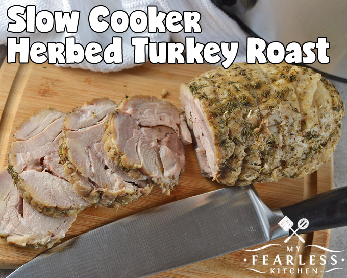 thick-sliced slow cooked turkey roast