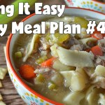 Easy Weekly Meal Plan #48