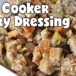 Slow Cooker Celery Dressing